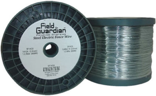 Electric Fence Wire Galvanized Steel, 14 ga