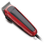 Gentle Groom Adjustable Blade Clipper Kit, Red/Black