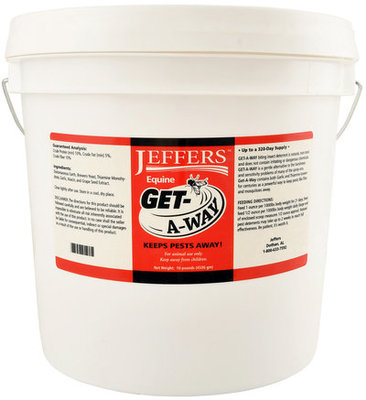 10 lb Jeffers™ Get-A-Way, (320 servings)