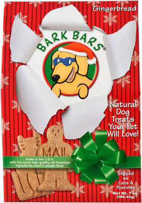 Gingerbread Holiday Bark Bars, 7 oz