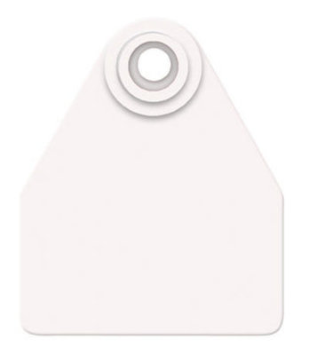 Allflex Global Blank Ear Tags (Medium), 25 count