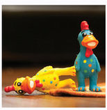 Globkens Latex Chicken Dog Toys