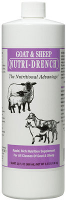8 oz, Goat and Sheep Nutri-Drench