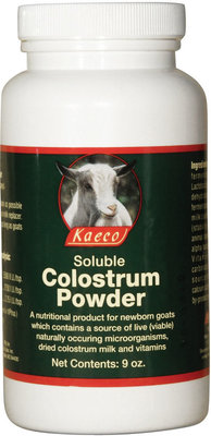 Kaeco Goat Colostrum Powder, 9 oz jar