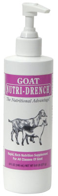 Goat Nutri-Drench, 8 oz pump