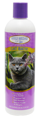Gold Medal Pets Cat Bath (Shampoo) 12 oz