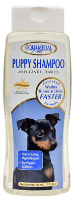 Gold Medal Pets Puppy Shampoo, 17 oz