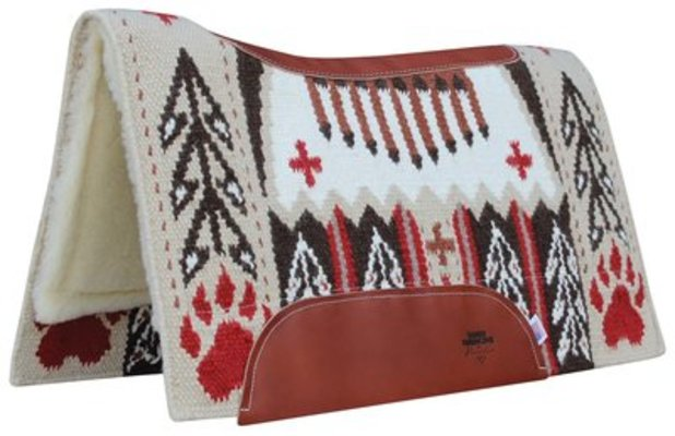 "Good Medicine ""Bear Paw"" SMx Saddle Pad, 1/2""x30""x34"""
