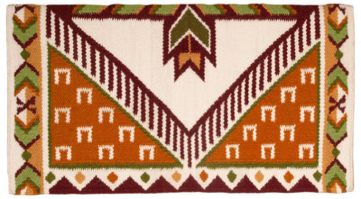 "Good Medicine ""Pony Tracks"" Saddle Blanket"