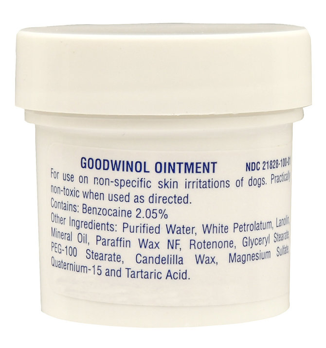 Goodwinol Ointment for Dogs   Jeffers Pet