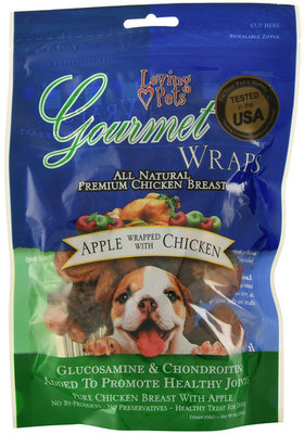 Gourmet Wraps Chicken Breast Dog Treats, 6 oz