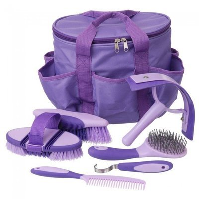 Great Grips 6 Piece Horse Grooming Kit w/ Bag