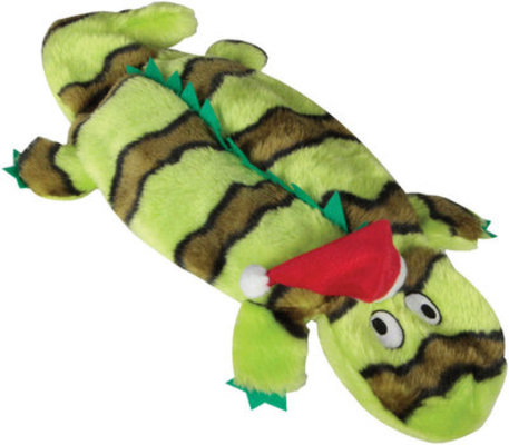 "Invincibles® Christmas Gecko, 15"" Green"