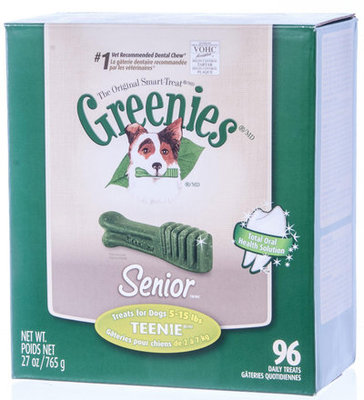 Greenies® Senior Dental Treats Tub-Pak, 27 oz
