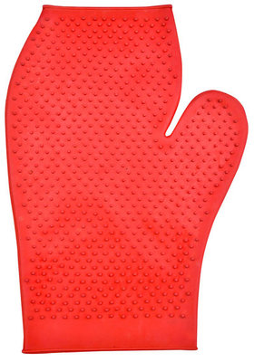 Jeffers Rubber Grooming Glove