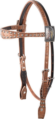 "Gypsy Soule ""Don't Ride in Fear"" Headstall"