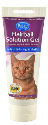 Hairball Solution Gel for Cats