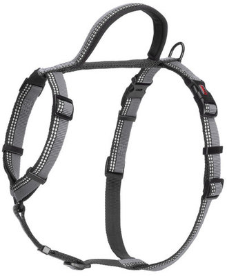 Small, Halti Walking Harness, Black/Gray