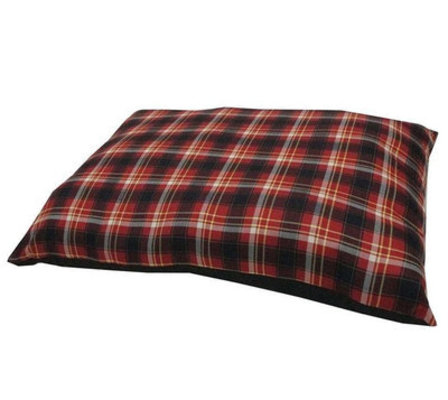 "Hamilton Plaid Dog Bed, 33""L x 25""W"