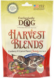 Harvest Blends Chewy Dog Treats, Cranberry N' Carrot