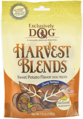 Harvest Blends Chewy Dog Treats, Sweet Potato