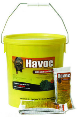 Havoc Rodenticide Pellets, 80 count