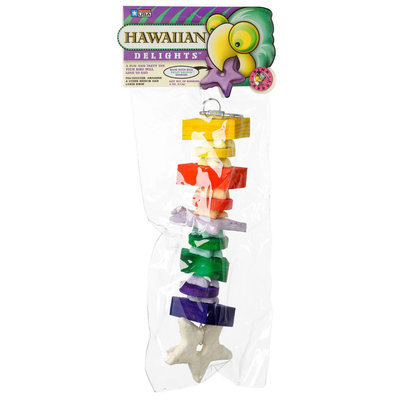 Hawaiian Delights Edible Bird Toy