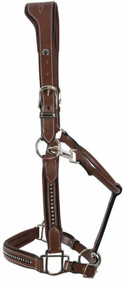 HDR Stress Free Crystal Leather Halter
