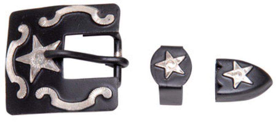 Headstall Buckle Set, Stars