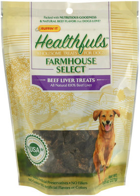 8 oz Beef Liver Treats