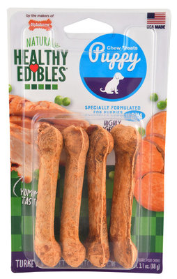 Nylabone Healthy Edibles for Puppies, 4 pack (Petite)