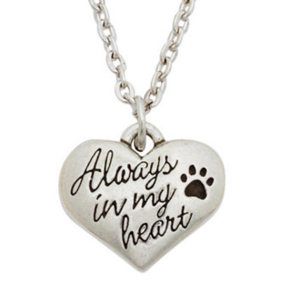"""Always In My Heart"" Necklace"