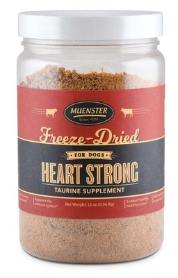 Heart Strong Freeze-Dried Taurine Supplement for Dogs, 12 oz