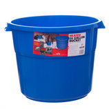 16 Gallon Heated Bucket, Blue