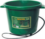 16-Gallon Heated Bucket, Green