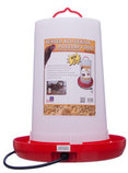 Farm Innovaters Heated Poultry Waterer, 3 Gallon