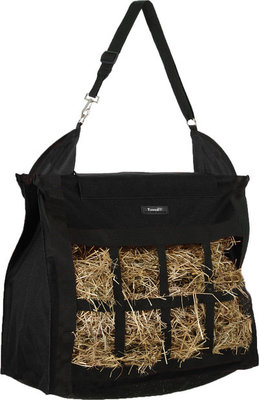 Heavy Denier Hay Bag, Black