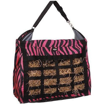 Tough 1 Heavy Denier Zebra Print Hay Bag
