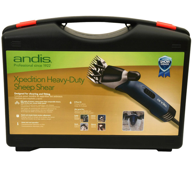 Andis Xpedition Heavy Duty Sheep Shearer 68090 | Jeffers Pet