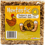 Hentastic Dried Mealworm & Sunflower Heart Pie, 7 oz