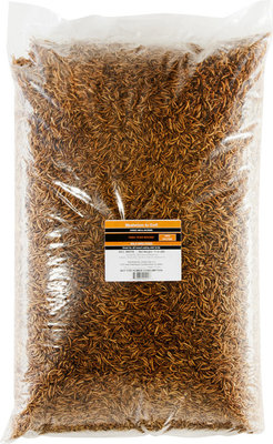Hentastic Dried Mealworms, 11.02 lbs