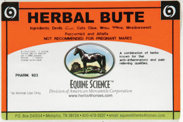 3 lb Herbal Bute, (48 servings)