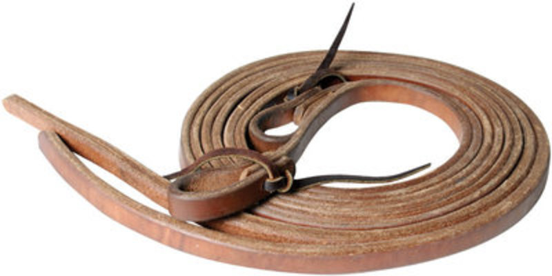 "Weighted End Split Reins, 5/8"" x 8'"