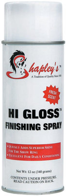 12 oz Hi Gloss Finishing Spray