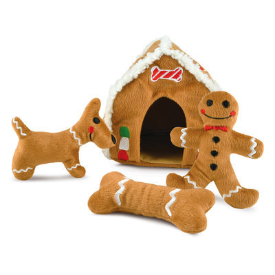 Gingerbread Hide-A-Toy, Assorted