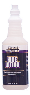 Hide Lotion, quart