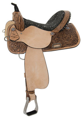 High Horse Jewel Barrel Saddle, Wide Tree