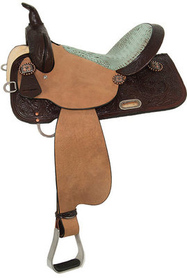 High Horse Runaway Barrel Saddle, Regular Tree