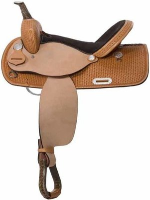 High Plains Barrel Saddle