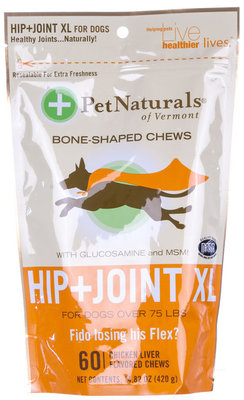 HIP + JOINT Bone Shaped Chews, X-Large Dog (60 count)